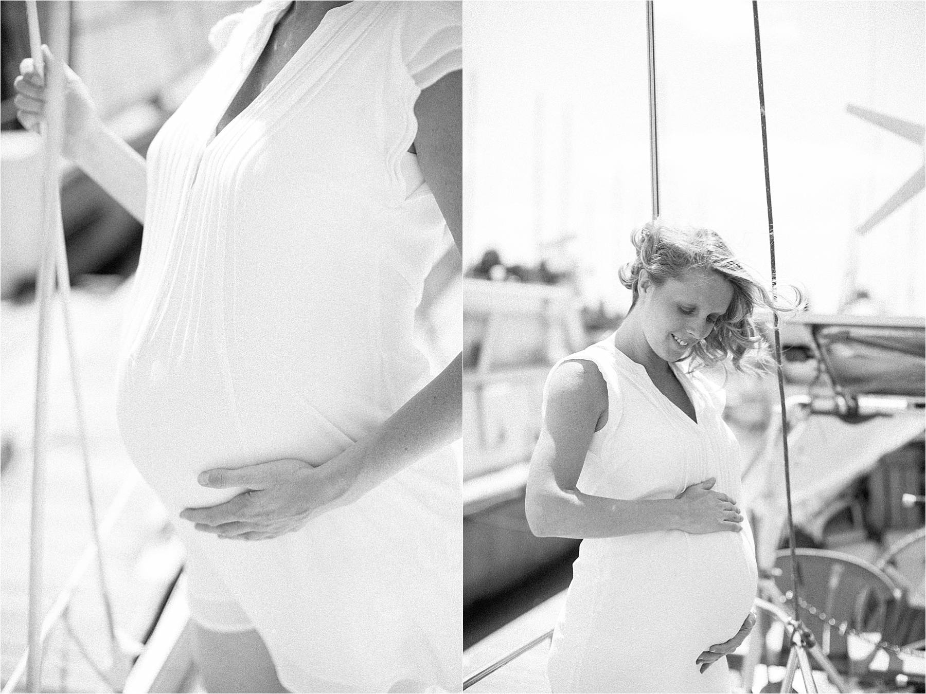 Maternity photoshoot in Antwerp